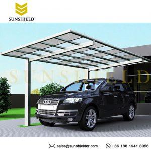 铝合金平顶车棚