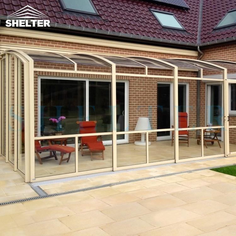 别墅庭院如何规划设计阳光房?